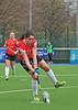 17 April 2016 at the National Hockey Centre, Glasgow Green. Women's National League Grand Final, Edinburgh University v Grove Menzieshill