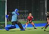 14 November 2015 at the National Hockey Centre, Glasgow Green<br /> Scottish National League Div 1 match - GHK v Edinburgh University