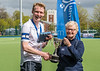 29 April 2017 at the National Hockey Centre, Glasgow Green. <br /> Scottish Hockey Men's District Cup Final - Watsonians 2 v Grange 2