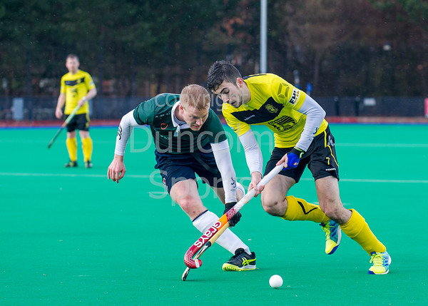 26 February 2016 at Peffermill, Edinburgh. Scottish Cup semi-final match, Edinburgh University v Kelburne