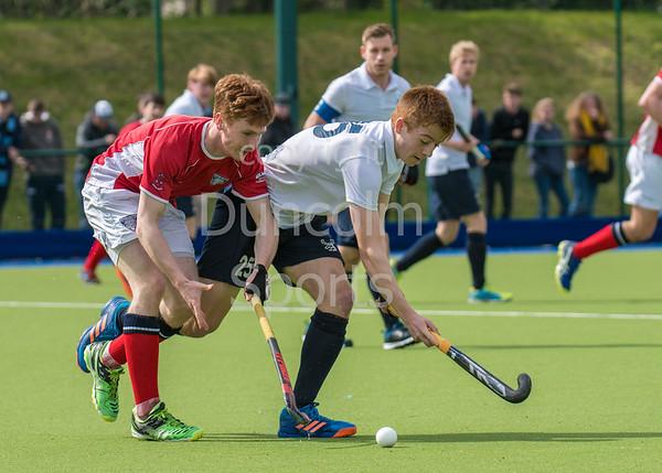 22 April 2017 at Fettes College Edinburgh. <br /> Scottish National League Division 1 match - Grange v Western Wildcats