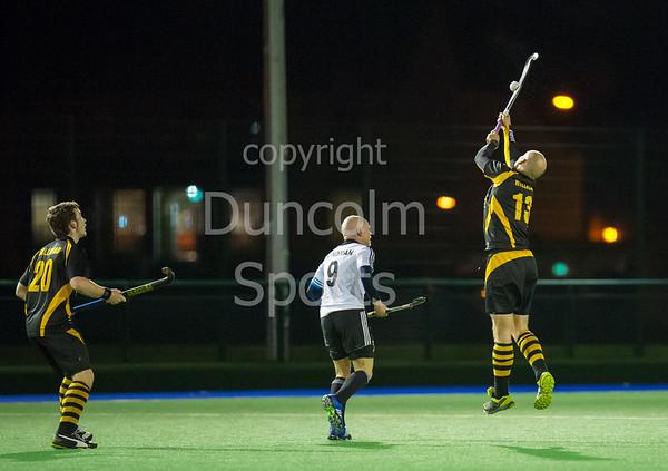 28 October 2016 at Old Anniesland, Glasgow<br /> Scottish National League Division 1 hockey - Hillhead v Uddingston