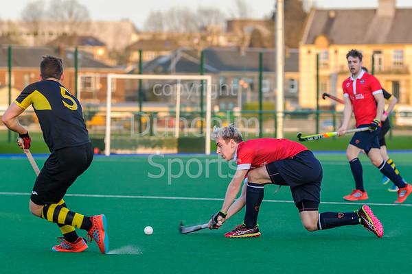 19 April 2018 at Old Anniesland, Glasgow. Scottish League Division 1 match - Hillhead v Edinburgh University