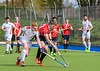 28 April 2018 at Auchenhowie. Scottish League Division 1  - Western Wildcats v Edinburgh University