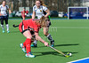 25 March 2018 at the National Hockey Centre, Glasgow Green. Scottish League Division 1 match - Hillhead v Dundee Wanderers