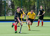 4th May 2019 at the National Hockey Centre, Glasgow Green. Scottish Hockey Finals weekend.<br /> Men's District Plate Final – Glasgow University 2s v Hillhead 2s