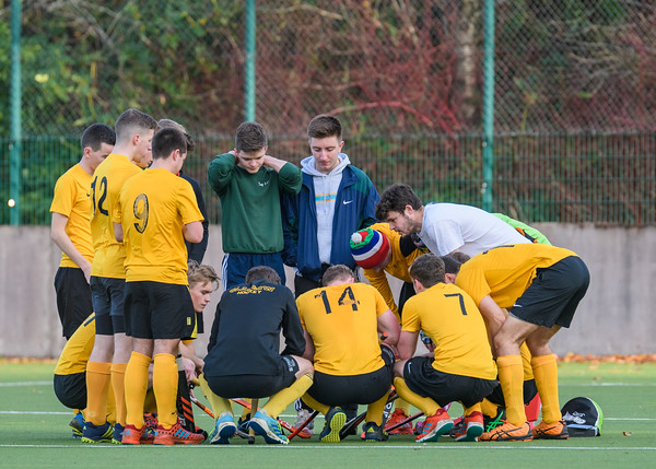 10 November 2018 at Garscube. Scottish League Division 2 match - Glasgow University v Inverleith