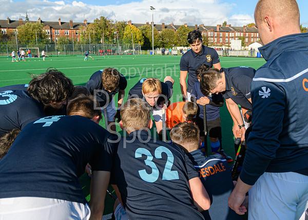 12 October 2019 at Titwood, Glasgow. Scottish Hockey Premiership match - Clydesdale v Grange