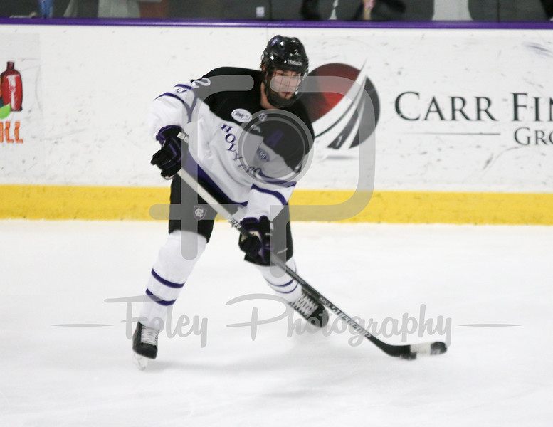 Saturday February 13, 2016 Worcester, Massachusetts;  during a game between Holy Cross Crusaders and the Air Force Falcons. The Air Force Academy won the game 4-2 at Hart Rink.