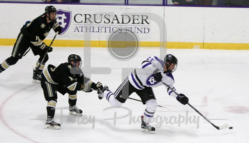 Worcester, Massachusetts: in the Atlantic Hockey Quarterfinals.