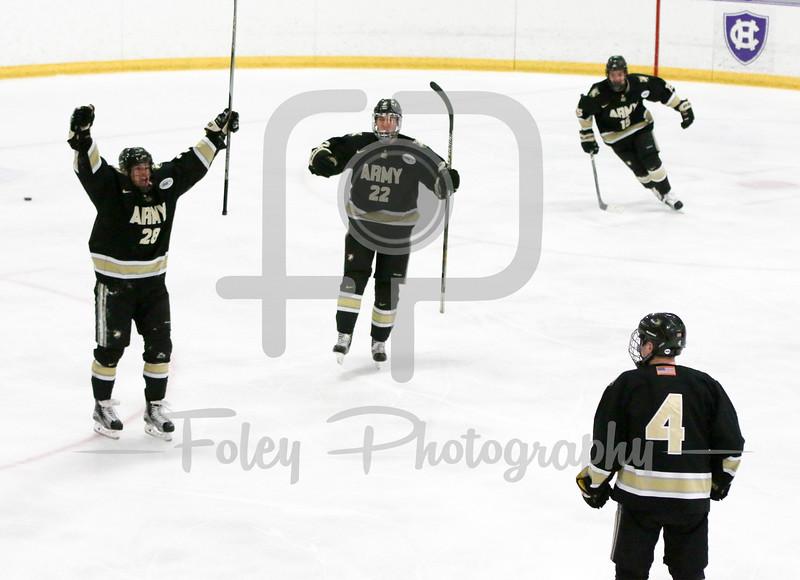 Army celebrates a goal