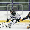 Saturday January 23, 2016 Worcester, Massachusetts;  during a game between between the Holy Cross Crusaders and the Canisius Golden Griffins. The Golden Griffins won the game 2-1 at Hart Rink.