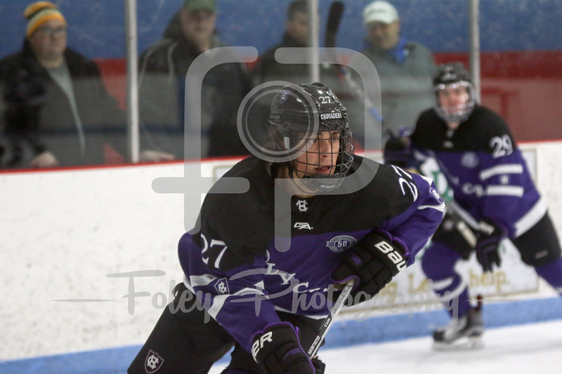 Holy Cross Crusaders forward Danny Lopez (27)