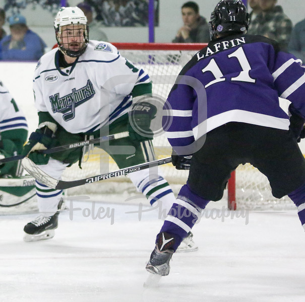 Holy Cross Michael Laffin (11) Mercyhurst Kyle Cook (6)