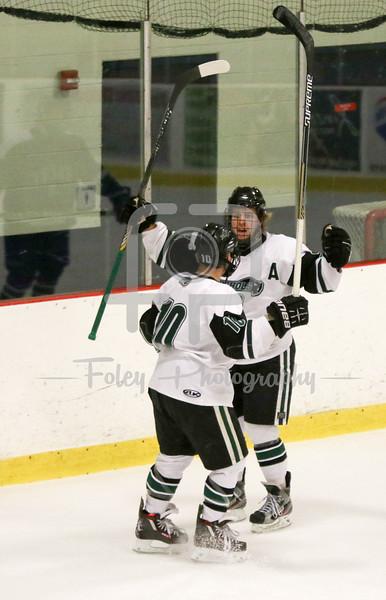 Nichols celebrates a goal