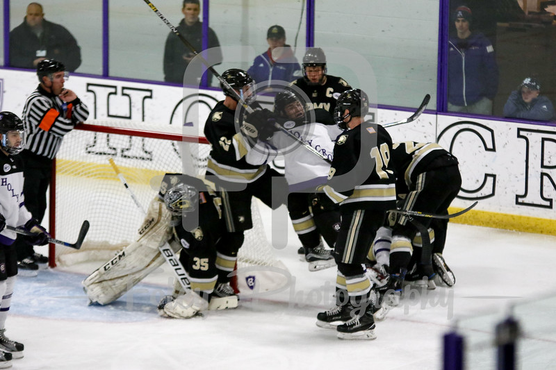 Saturday, December 10, 2016; Worcester, Massachusetts;  during the Black Knights 8-1 victory over the Crusaders.