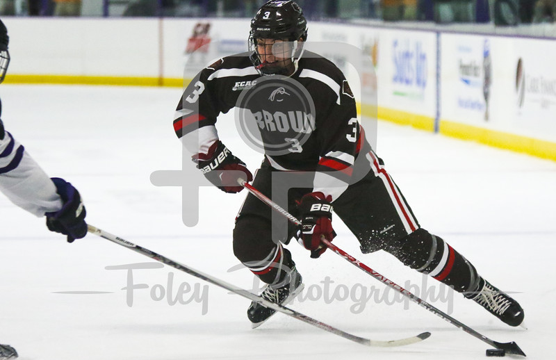Brown Bears defenseman Joe Maguire (3)