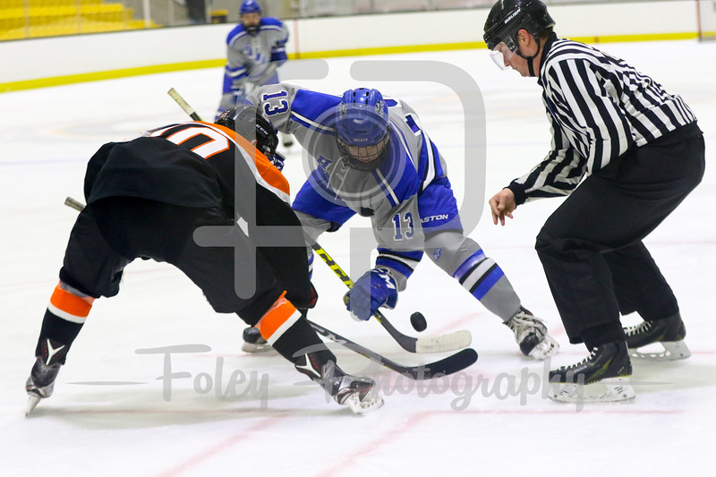 Friday, January 6, 2017; Boston, MA;  during the Buffalo State Bengals 6-2 win over Becker College.