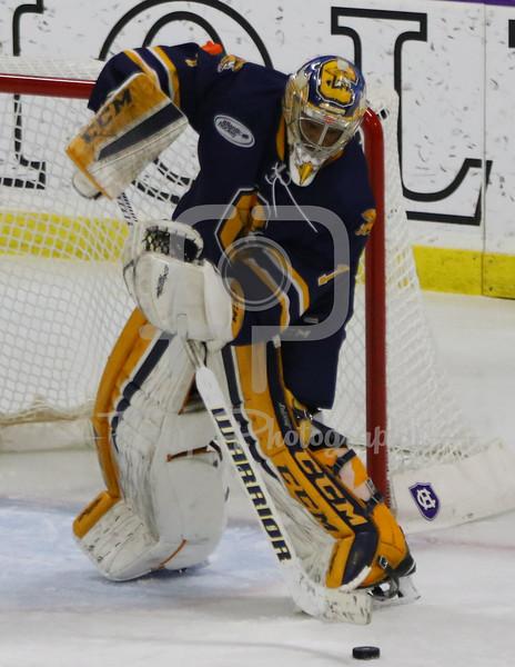 Canisius Golden Griffins goalie Charles Williams (1)