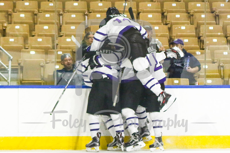 Holy Cross Crusaders celebrate a goal