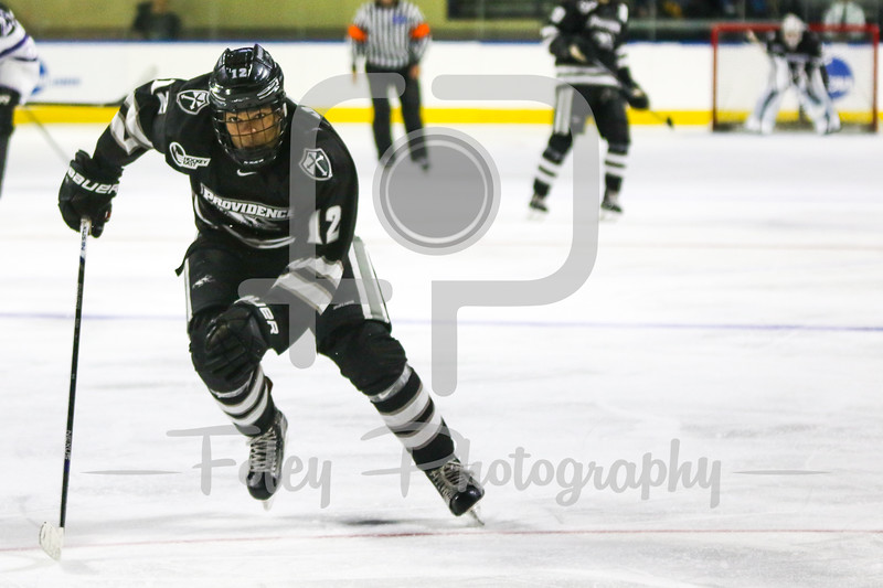 Providence Friars forward Erik Foley (12)