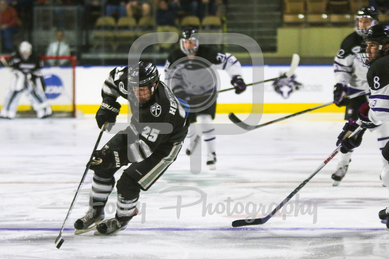 Providence Friars forward Robbie Hennessey (25)