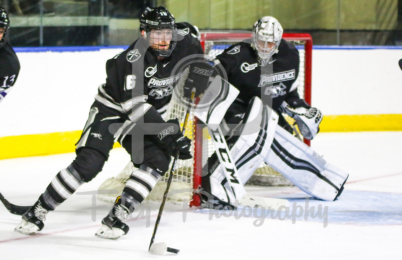 Providence Friars defenseman Anthony Florentino (16)