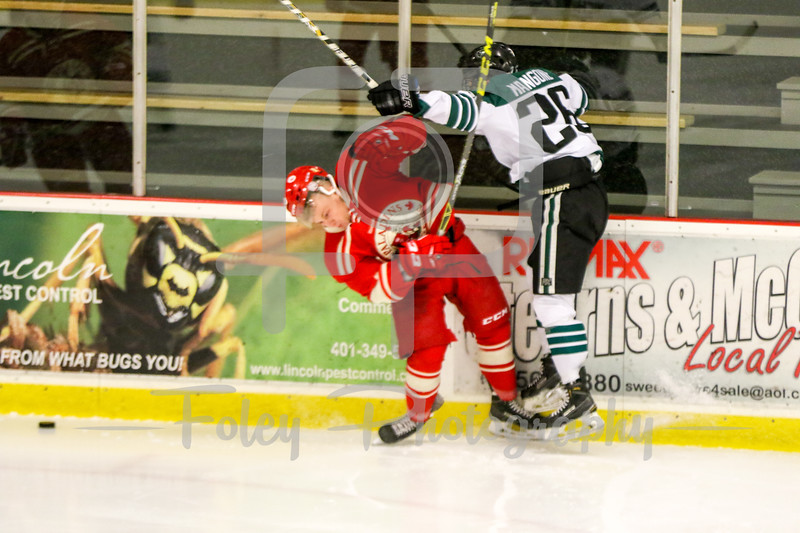 Nichols College Nicholas Mangone (26) Royal Military  College of Canada Dylan Giberson (25)