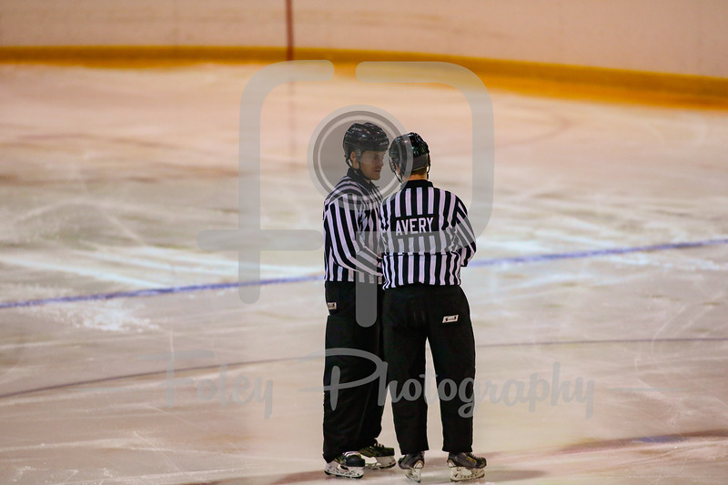 Linesman Andrew McAvoy Linesman Patrick Avery