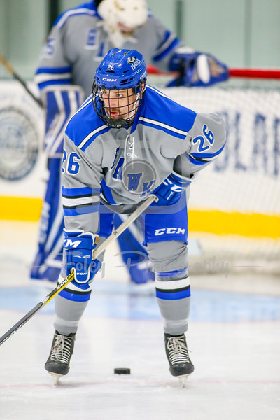 Becker College Hawks forward John Tomkowiak (26)