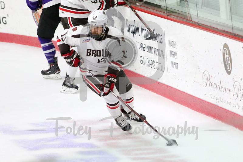 Brown Bears forward Brent Beaudoin (13)