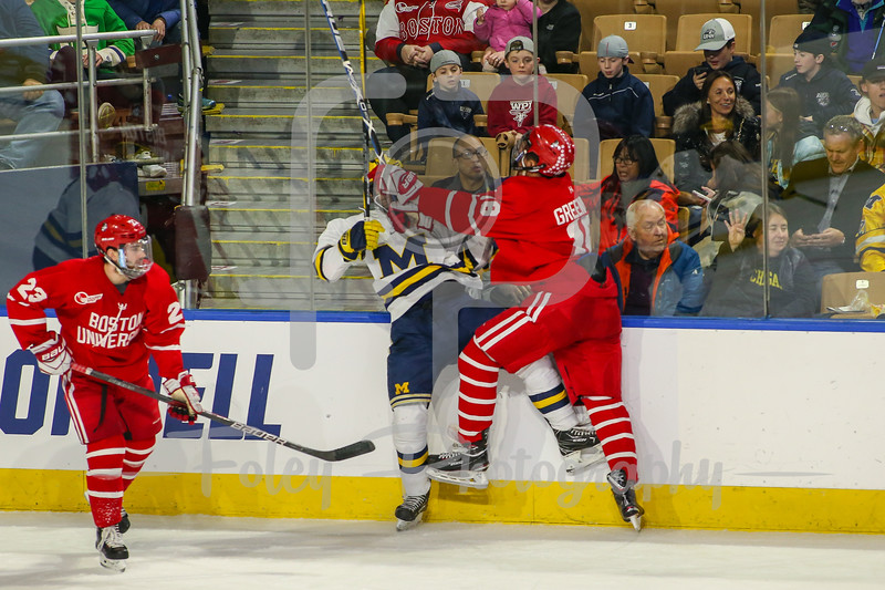 NCAA Regional Final: Boston University vs Michigan