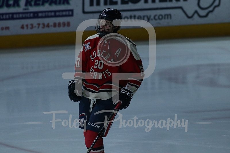 Robert Morris Colonials forward Timmy Moore (20)