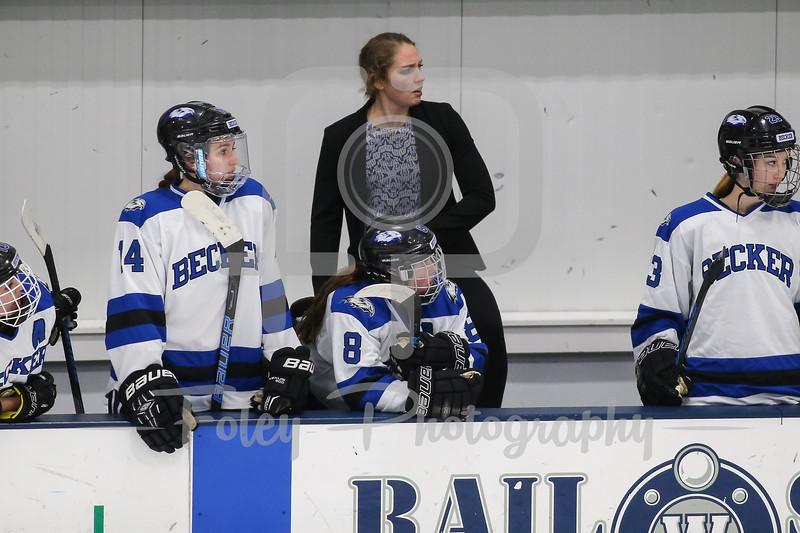 ecker College Hawks assistant coach Megan Myers