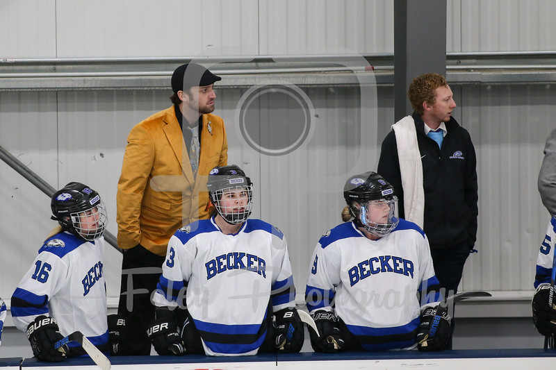 Becker College Hawks assistant coach Ray Monroe