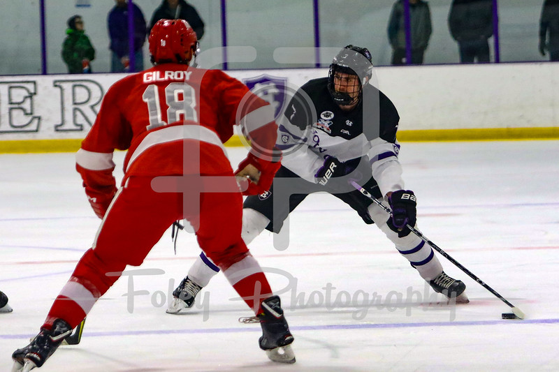 Holy Cross Crusaders defenseman Johnny Coughlin (7)
