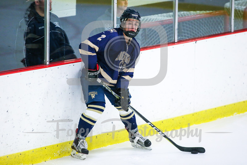 Suffolk College Rams defenseman Joe Vingi (2)