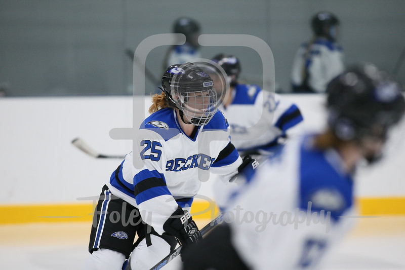 Becker College Hawks forward Anastasia Thompson (25)