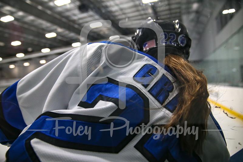 Becker College Hawks forward Christie Gray (22)
