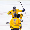 Quinnipiac jumped all over St. Cloud State in the NCAA semifinals on Thursday, rolling to a 4-1 victory to set up an all-Connecticut showdown with rival Yale for the championship on Saturday, April 11, 2013. Quinnipiac jumped all over St. Cloud State in the NCAA semifinals on Thursday, April 11, 2013, rolling to a 4-1 victory to set up an all-Connecticut showdown with rival Yale for the championship on Saturday, April 13, 2013.