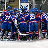 The Providence Friars fell to No. 7 UMass Lowell, 4-1, as the two teams faced off with the Hockey East Regular-Season Title on the line Saturday night at Schneider Arena, March 9, 2013.