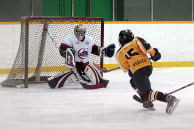 Andrew the Sniper ... this ended in a goal