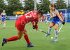 6 August 2019 at the National Hockey Centre, Glasgow Green. Women's EuroHockey Championship II  Pool B match:<br /> Czech Republic v Scotland