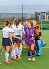 15th March 2019 at the National Hockey Centre, Glasgow Green. Scottish Hockey Senior Schools Finals. <br /> Senior Girls Cup Final - Dollar Academy v Glasgow Academy