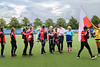 10 August 2019 at the National Hockey Centre, Glasgow Green. Women's EuroHockey Championship II. Final Ceremony -  Poland team