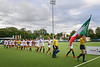 10 August 2019 at the National Hockey Centre, Glasgow Green. Women's EuroHockey Championship II. Final Ceremony -  Italy team
