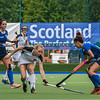 9 August 2019 at the National Hockey Centre, Glasgow Green. Women's EuroHockey Championship II  semi-final match: Italy v Austria