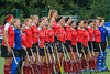 10 August 2019 at the National Hockey Centre, Glasgow Green. Women's EuroHockey Championship II  3/4th Place Match:<br /> Poland v Austria