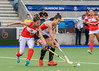 4 August 2019 at the National Hockey Centre, Glasgow Green. Women's EuroHockey Championship II  Pool A match: Poland v Turkey