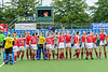 6 August 2019 at the National Hockey Centre, Glasgow Green. Women's EuroHockey Championship II  Pool B match:<br /> Ukraine v Austria